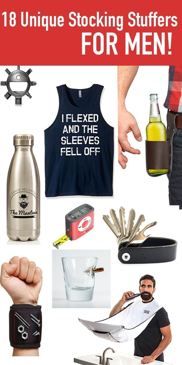 10 Unique Christmas Gift Ideas For My Husband 18 stocking stuffer ideas for men stocking stuffers bibs and 7
