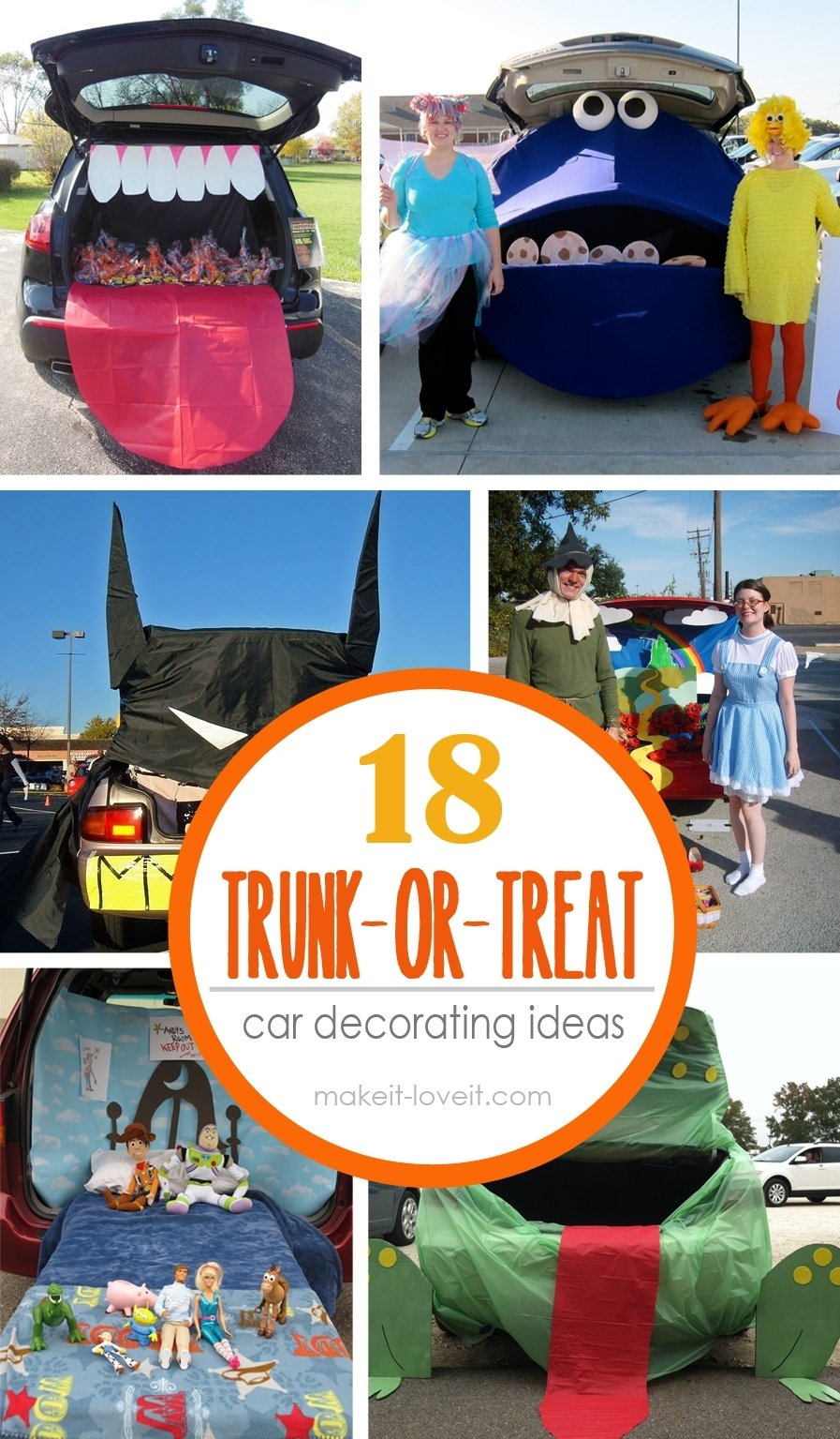 10 Cute Trunk And Treat Ideas For Decorating 18 trunk or treat car decorating ideas decoration cars and car 2020