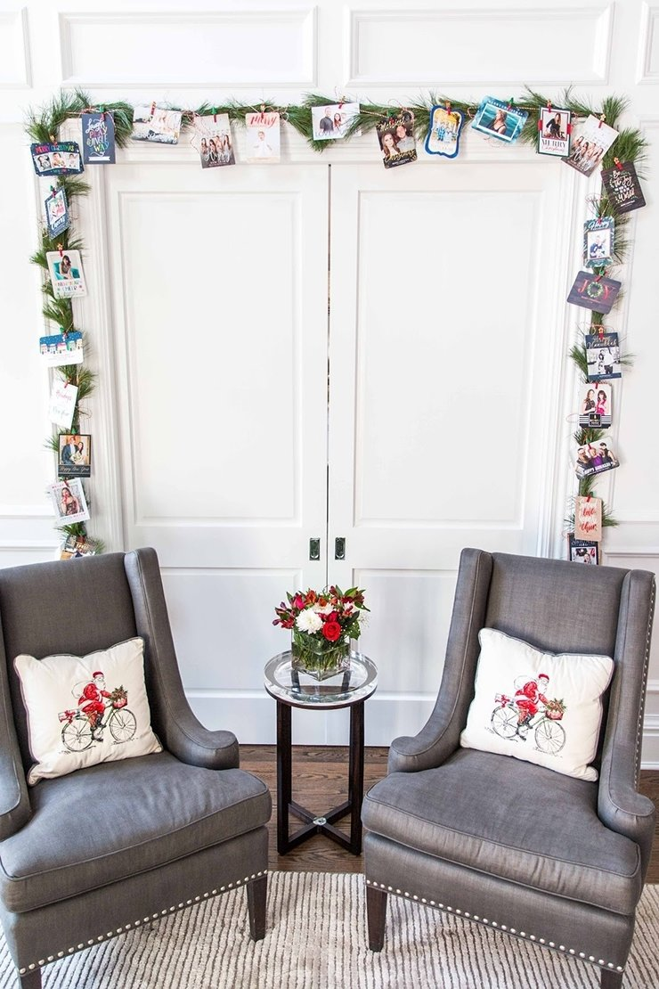 18 ways to display christmas cards in 2018 | shutterfly