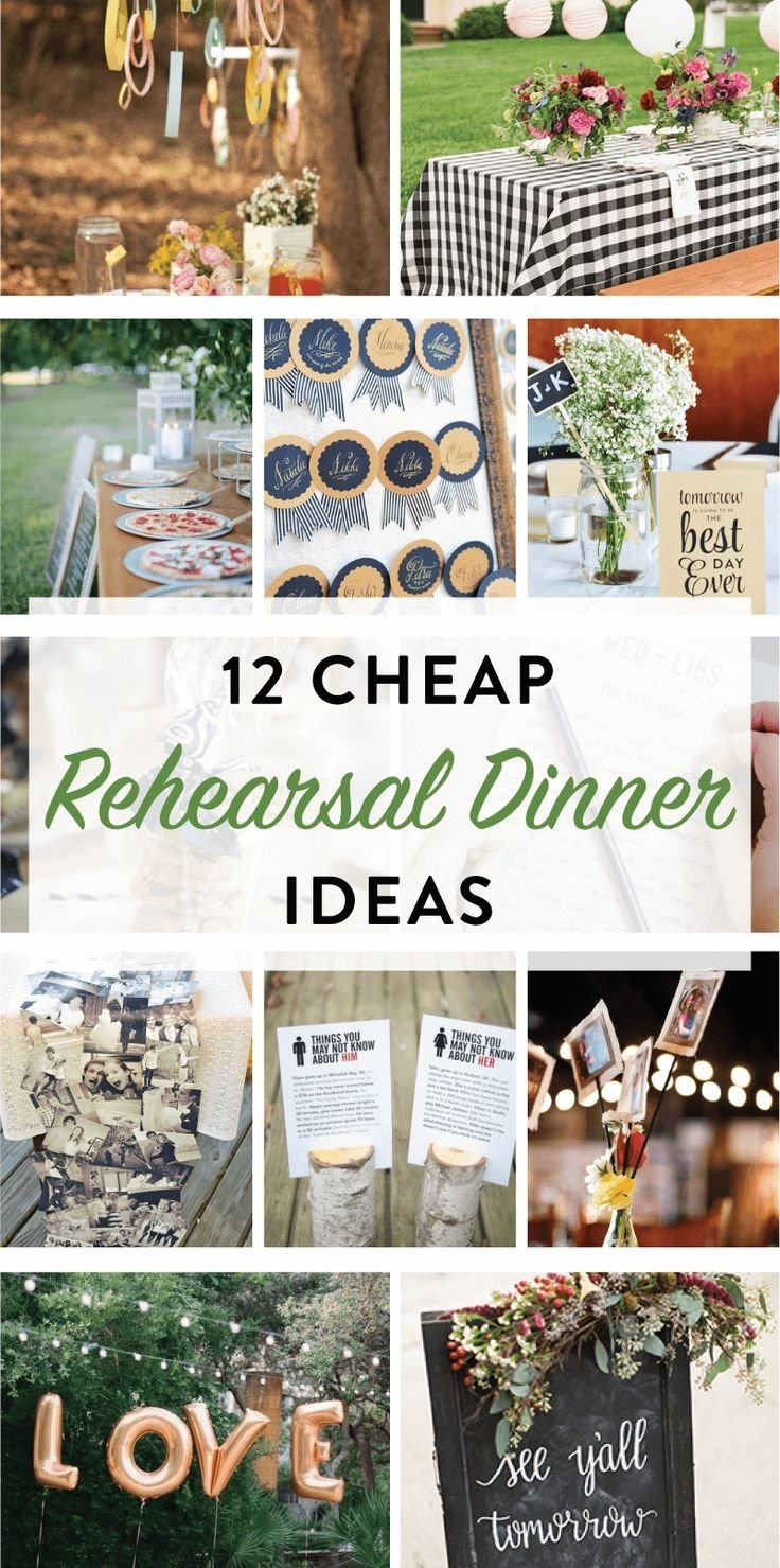 10 Best Wedding Rehearsal Dinner Ideas Decorations 180 best rehearsal dinner ideas images on pinterest rehearsal 2020
