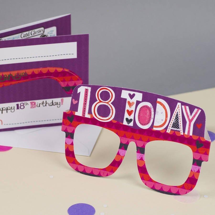 10 Stylish 18Th Birthday Present Ideas For Girls 18th birthday cardtandem green notonthehighstreet 1