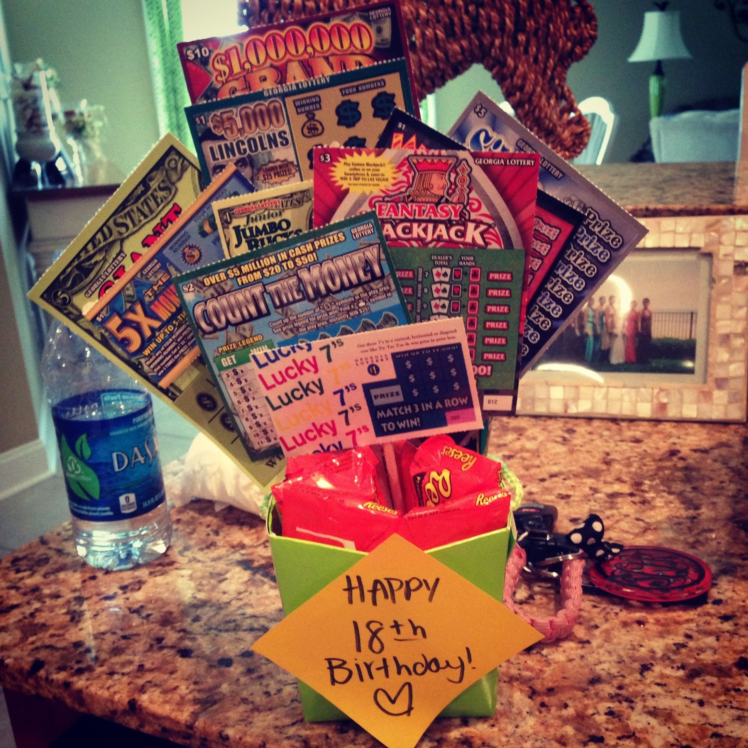 10 Unique Ideas For An 18Th Birthday 18th birthday gift scratchoffs parties gift ideas pinterest 2