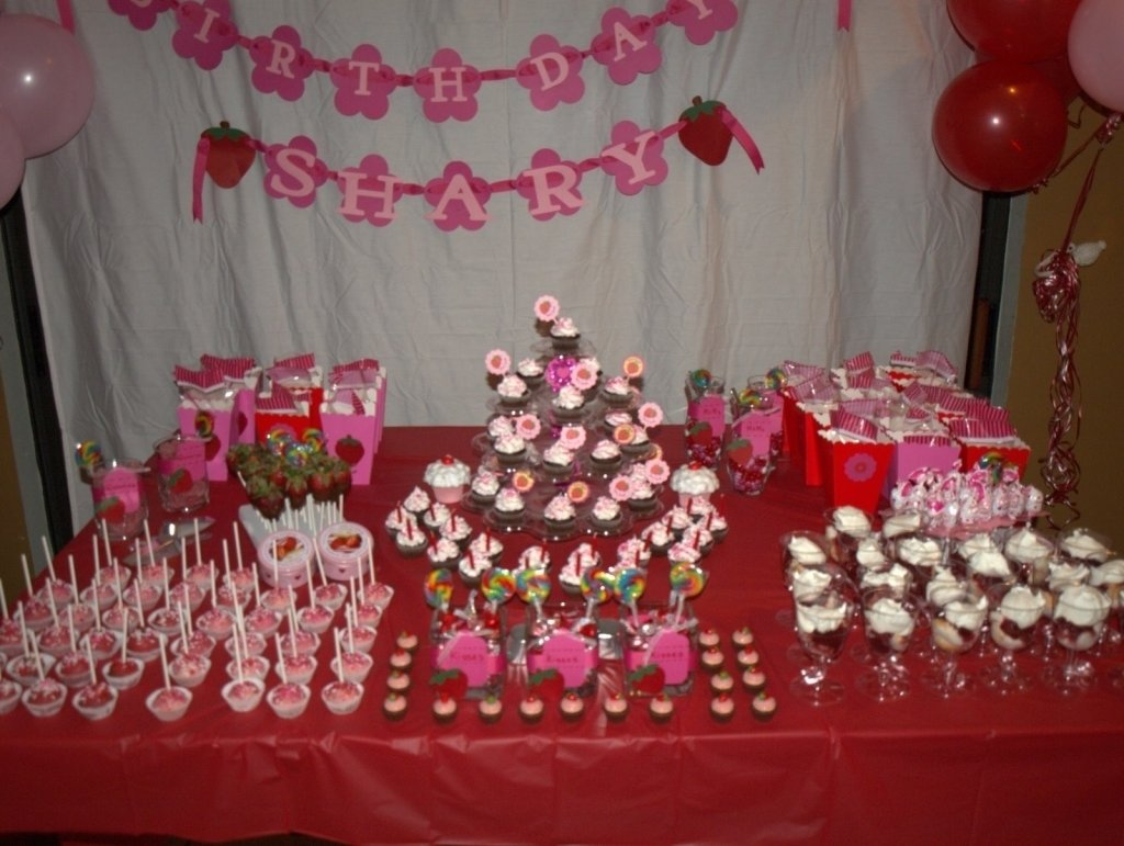 10 Gorgeous 18Th Birthday Party Ideas For Girls 18th Decorations Decoration Image Idea