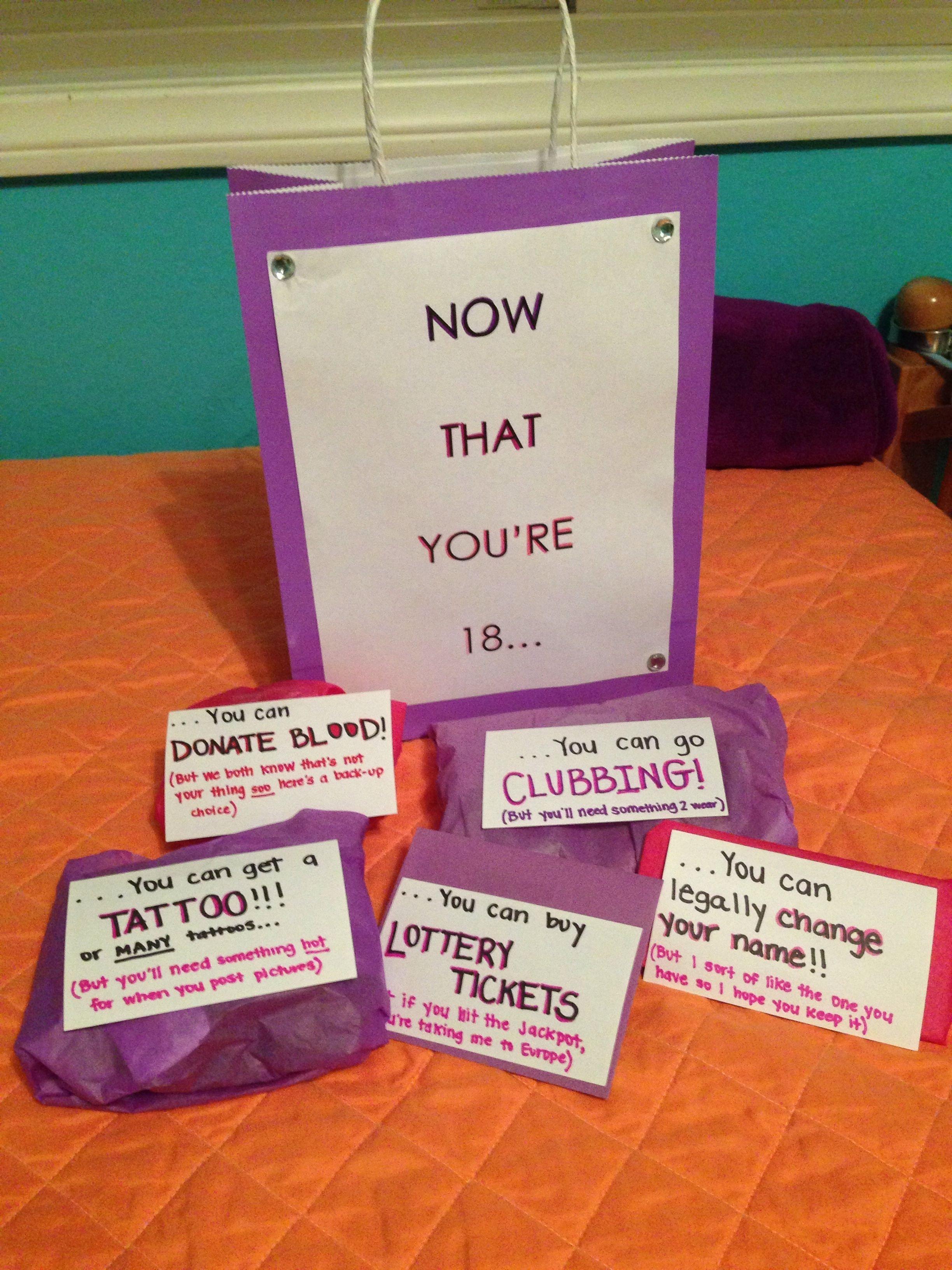 10 Stylish 18Th Birthday Present Ideas For Girls 18th birthday present for olivia my creations pinterest 2