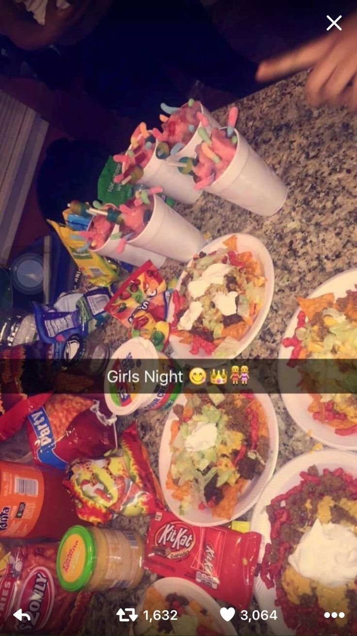 10 Best Ideas For Girls Night In 19 best girls night ideas images on pinterest treats bedding and 2020