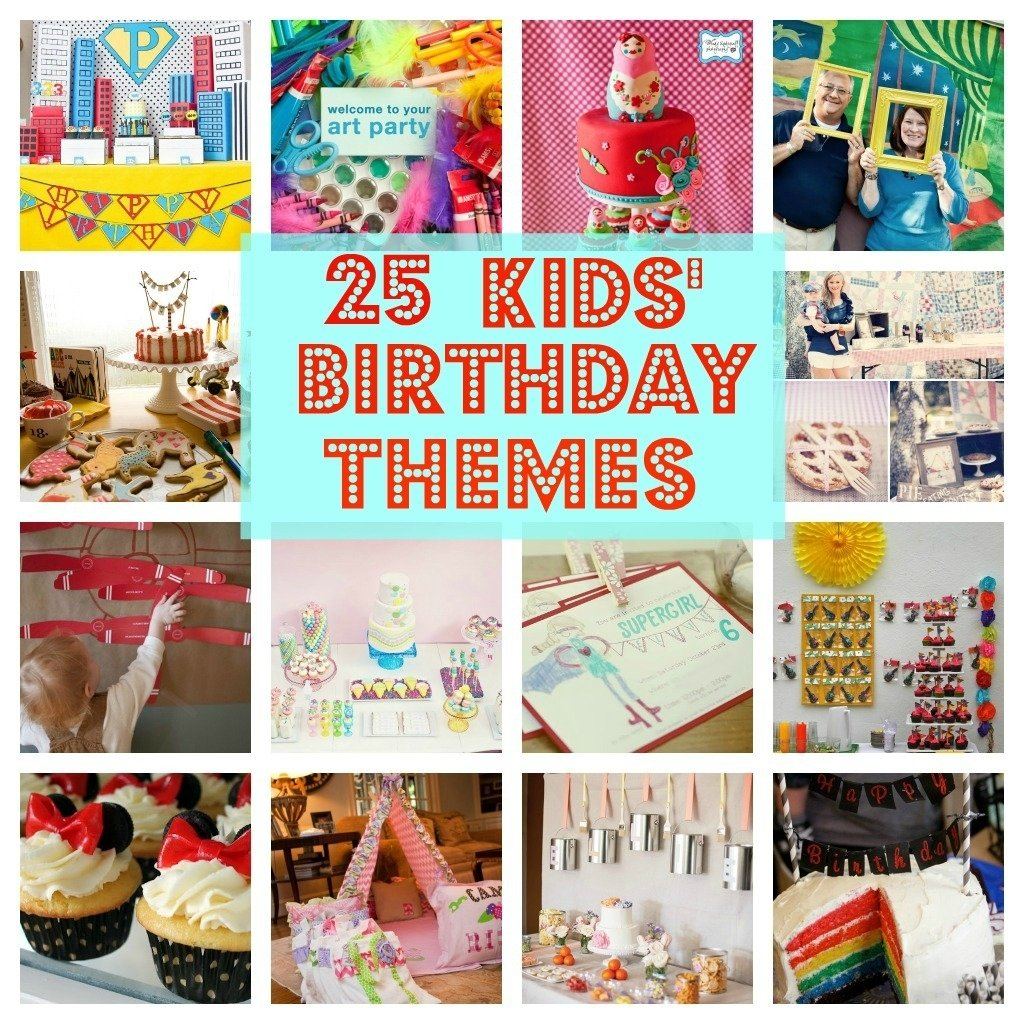10 Spectacular Party Ideas For Kids Birthday Parties At Home 19 Best Kids  Birthday Party Ideas
