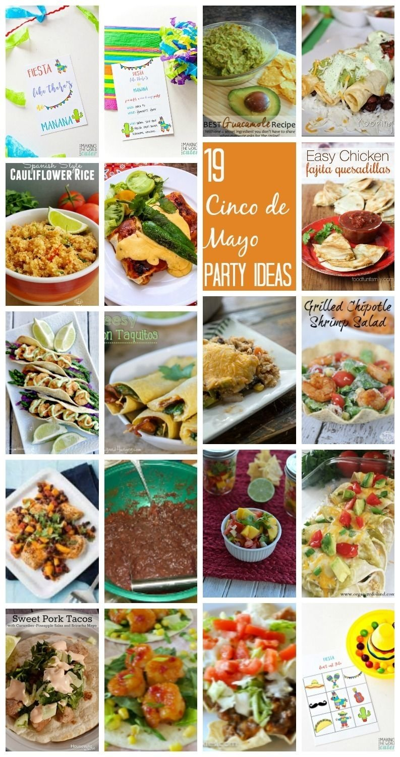 10 Fabulous Cinco De Mayo Party Food Ideas 19 cinco de mayo party ideas and block party cinco de mayo party