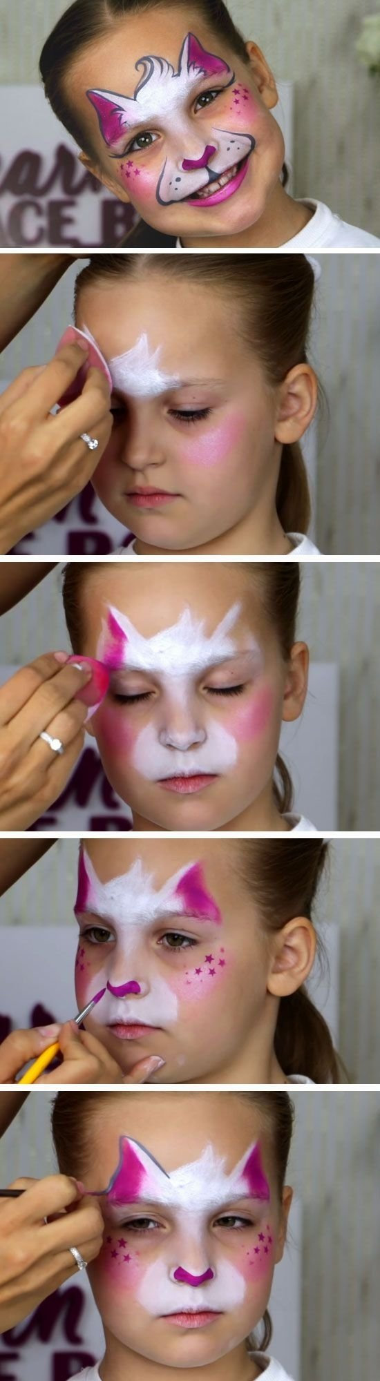 10 Cute Face Painting Ideas For Kids Step By 19 Diy