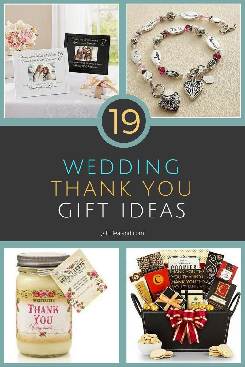 19 good wedding thank you gift ideas everyone will love | wedding
