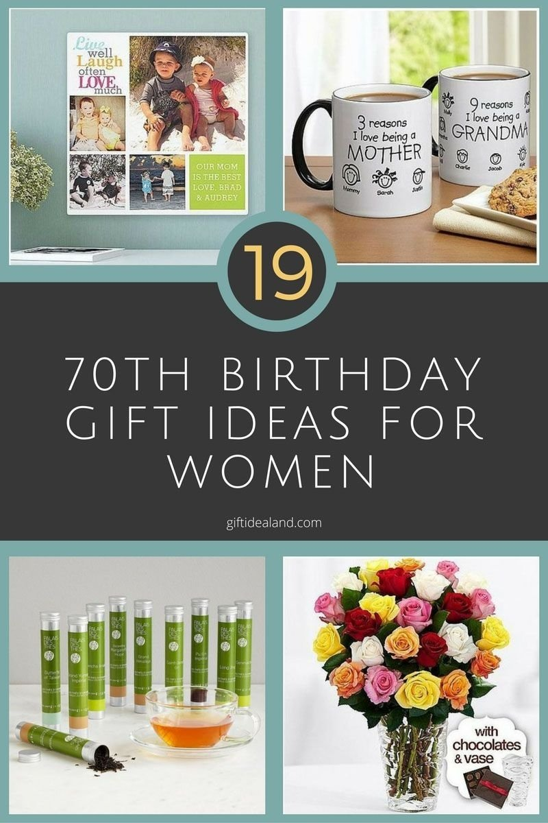 10 Lovely Gift Ideas For Women Birthday 19 great 70th birthday gift ideas for women 70th birthday gifts 2 2020