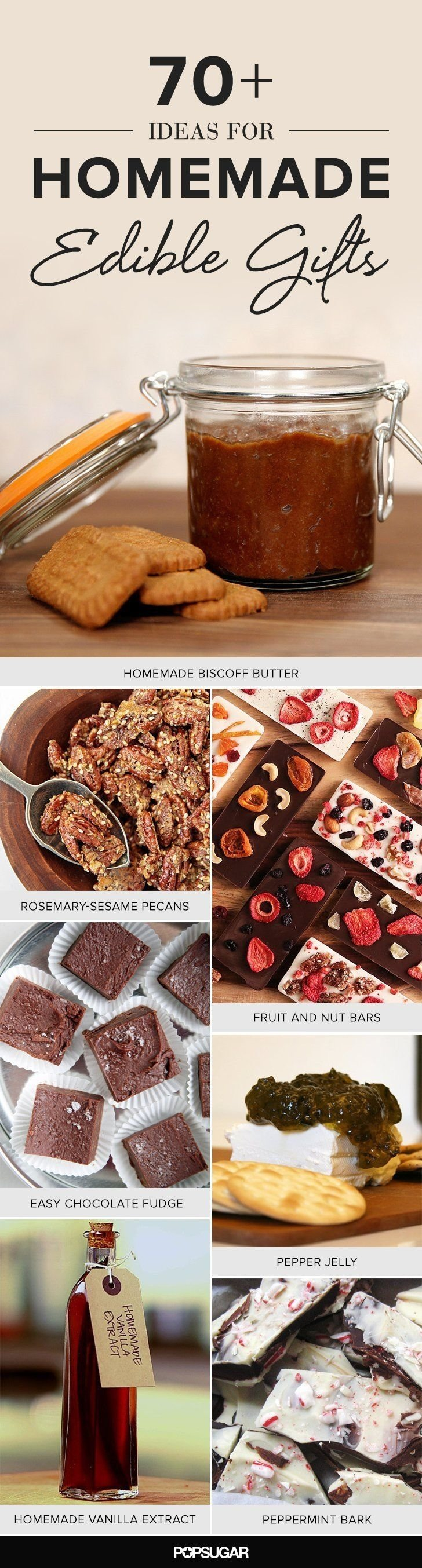 10 Famous Homemade Edible Christmas Gift Ideas 19 homemade food gifts that you can actually make crackers food 2021