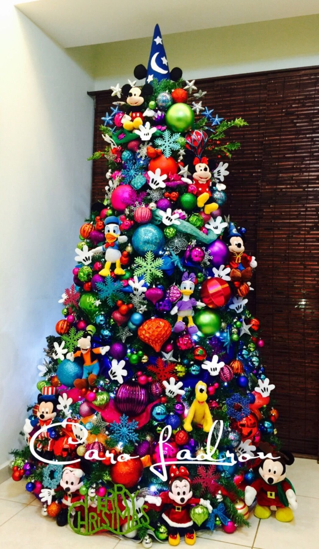 19 most creative kids christmas trees | mickey mouse christmas tree