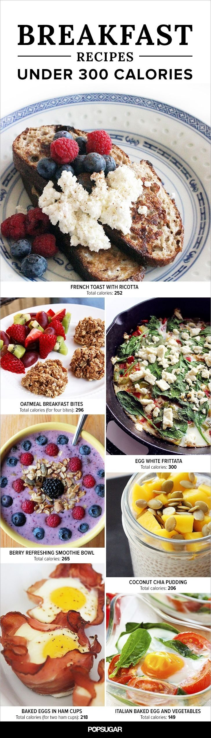 10 Fabulous Breakfast Ideas Under 300 Calories 19 satisfying breakfasts under 300 calories 300 calories light