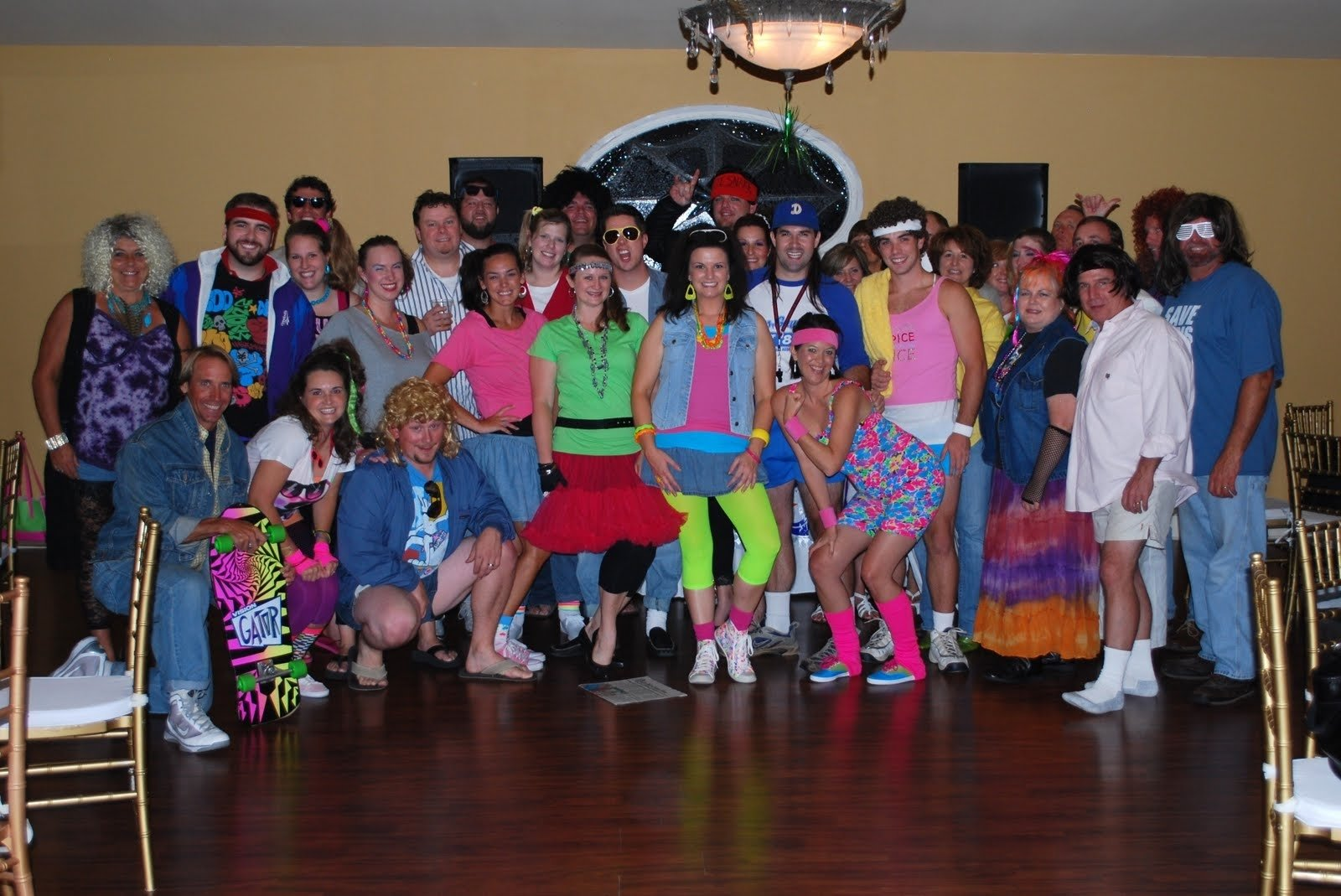 1980s theme party ideas | keeping up with the joneses | rosie's 80s