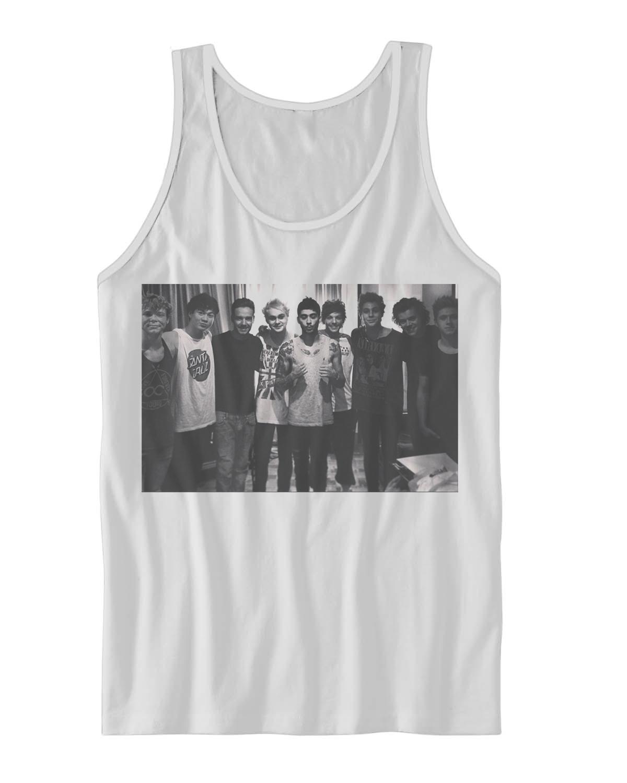 10 Elegant One Direction Shirt Ideas For Concert 1d 5sos group portrait tank top one direction concert celebrity 2020