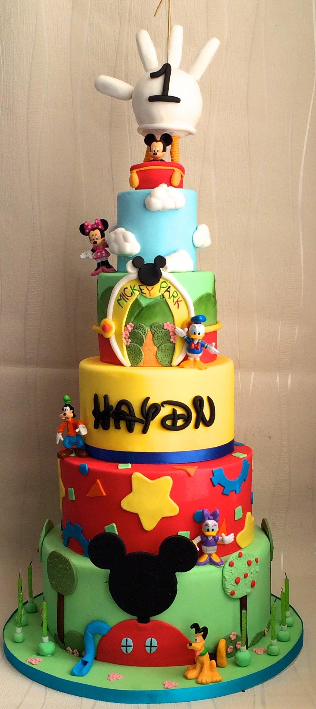 10 Most Popular Mickey Mouse Birthday Cake Ideas 1st Clubhouse Party