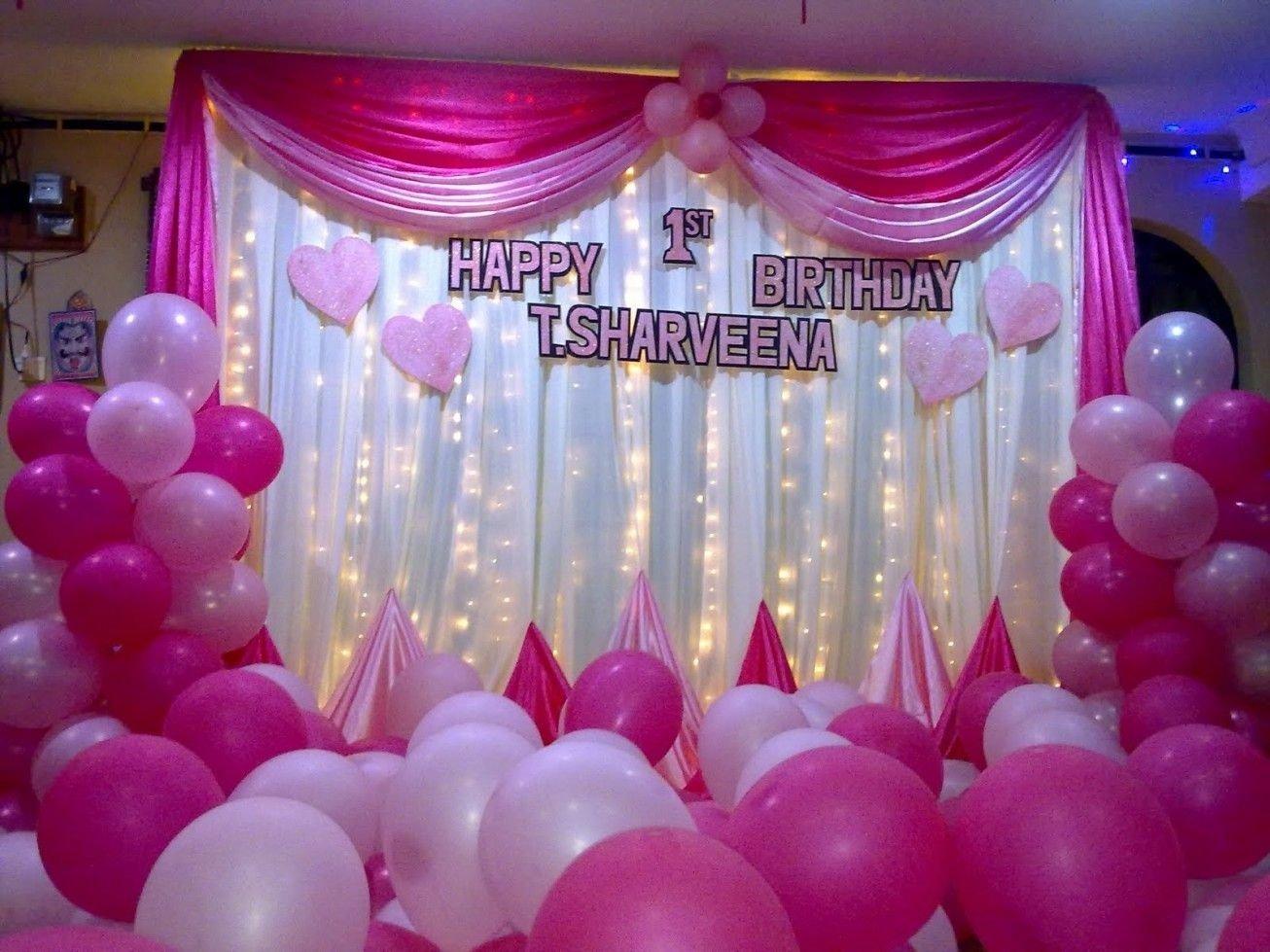 10 Stylish 1St Birthday Party Decoration Ideas 1st birthday party decoration party decorations pinterest