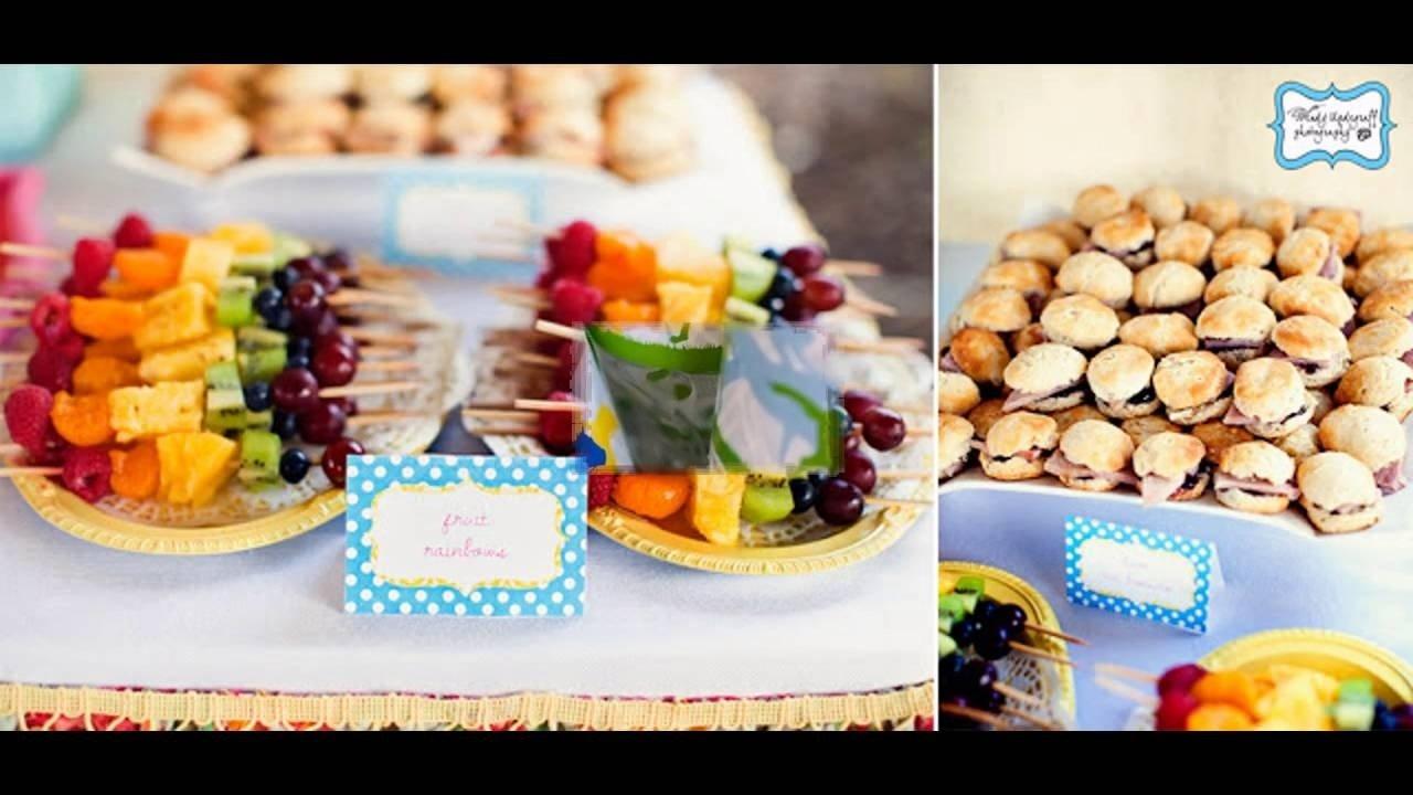 10 Wonderful First Birthday Party Food Ideas 1st birthday party food ideas youtube 1 2020