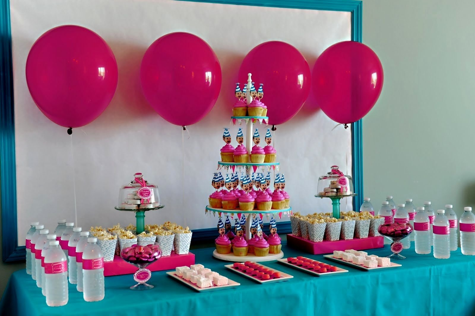 10 Stunning Ideas For Girls Birthday Party 1st birthday party ideas for girl decorating of party 1 2020