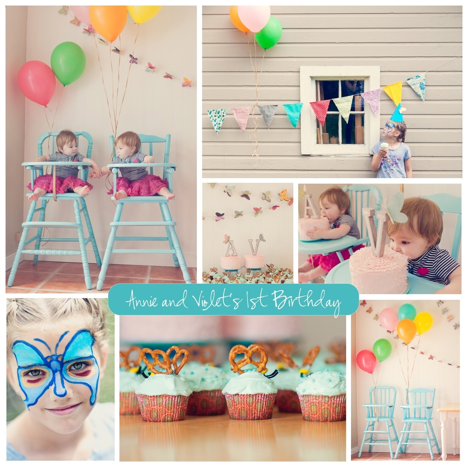 10 Lovable Twins First Birthday Party Ideas 1st birthday party ideas for twins places to visit pinterest
