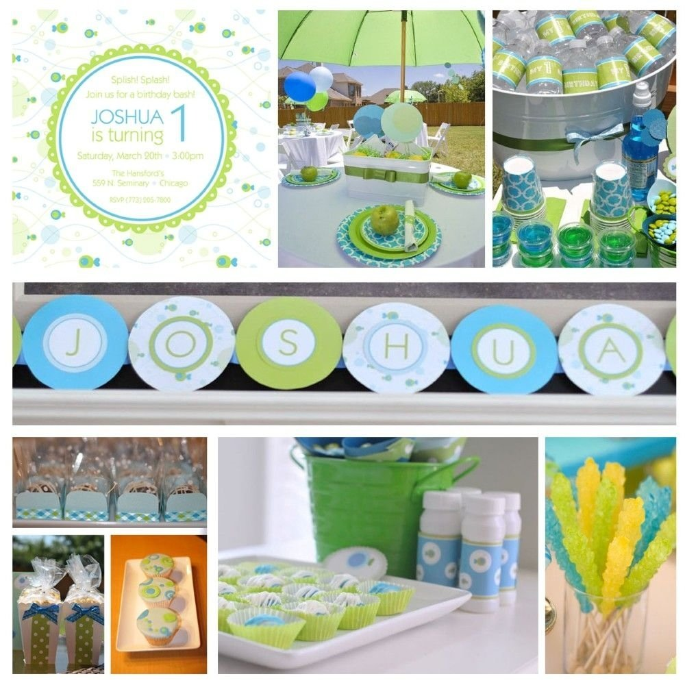 10 Fabulous First Birthday Party Ideas Boy 1st Green Baby
