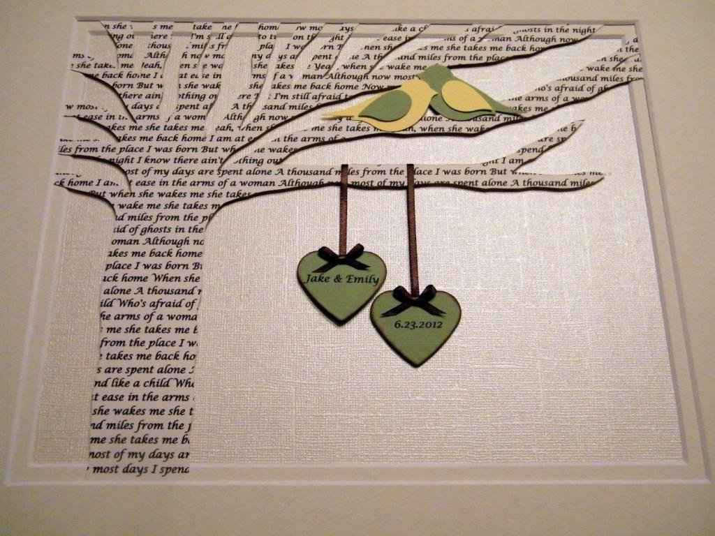 10 Fantastic Gift Ideas For Wedding Anniversary 1st wedding anniversary gift ideas for a couple arts crafts 4 2020