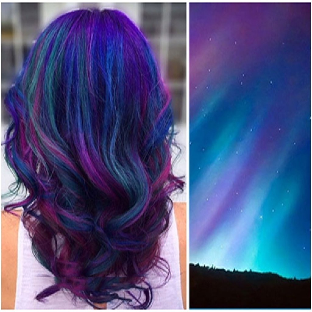 10 Cute Two Color Hair Dye Ideas