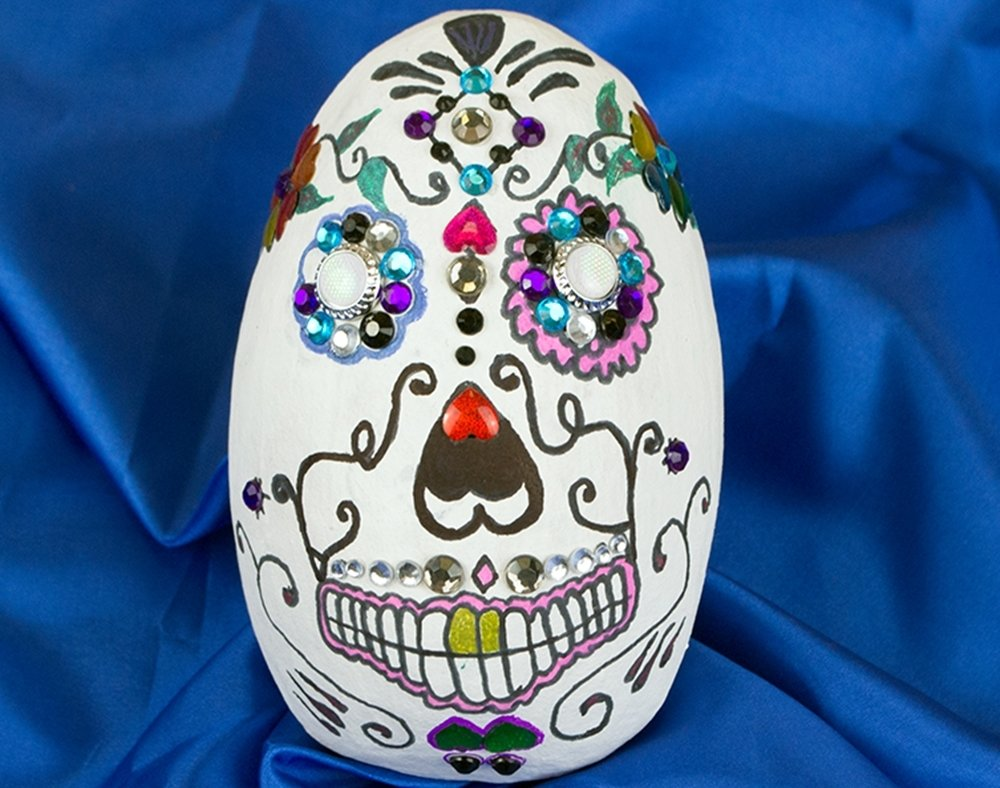 10 Famous Day Of The Dead Craft Ideas 2 day of the dead colourful craft ideas little crafty bugs blog