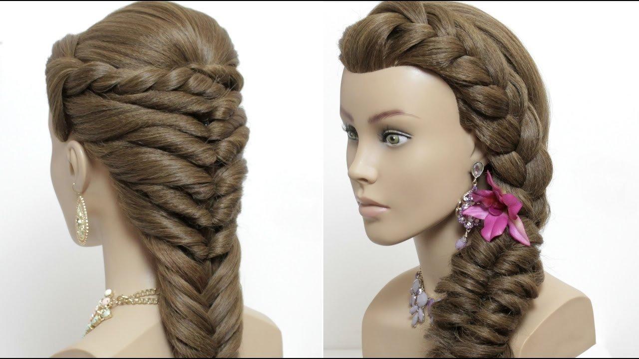 10 Stunning Easy Hair Ideas For Long Hair 2 easy hairstyles for long hair tutorial cute summer braids youtube 1 2021
