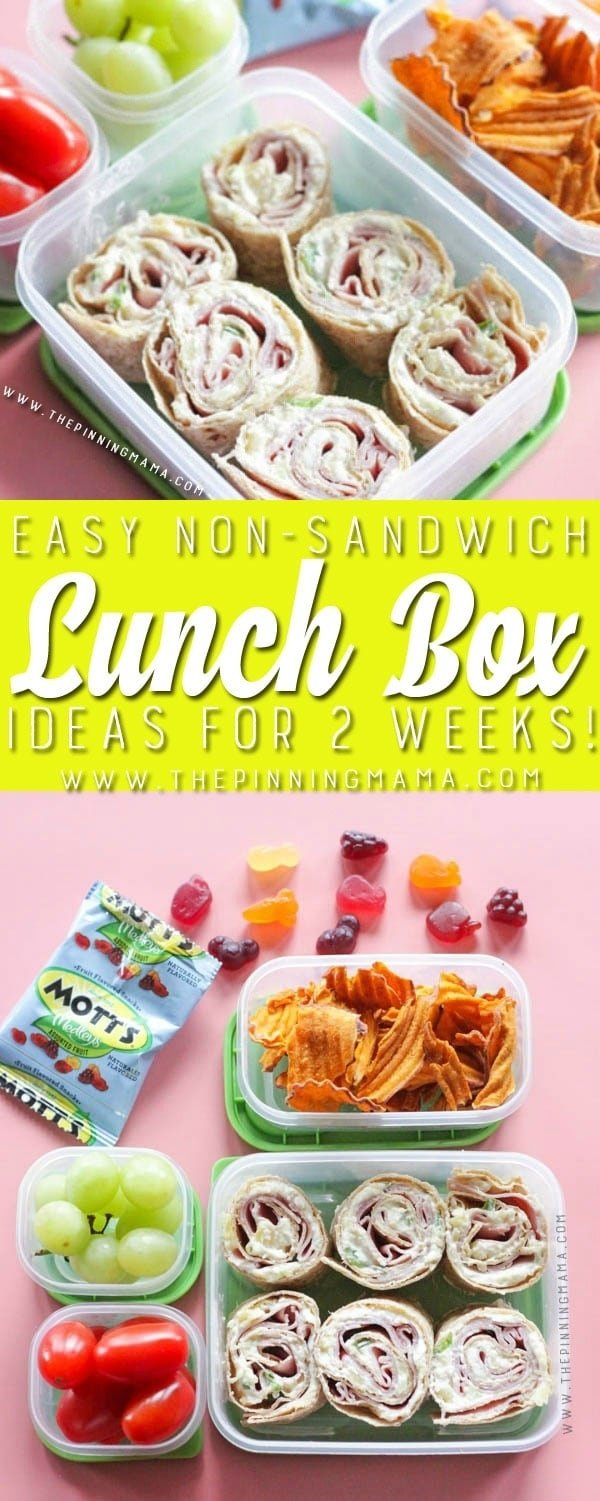 10 Lovely Simple Lunch Ideas For Kids 2 weeks of no sandwich lunch box ideas kids will love no repeats 2020