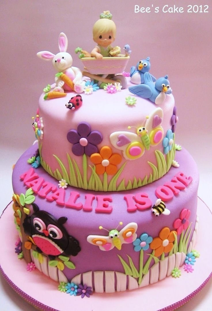 10 Attractive Birthday Cake Ideas For Kids 2 year old baby girl birthday cakes toddler birthday cakes on 1 2020