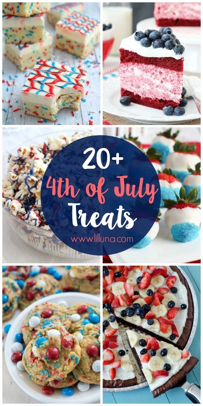 10 Stylish 4Th Of July Baking Ideas 20 4th of july desserts lil luna