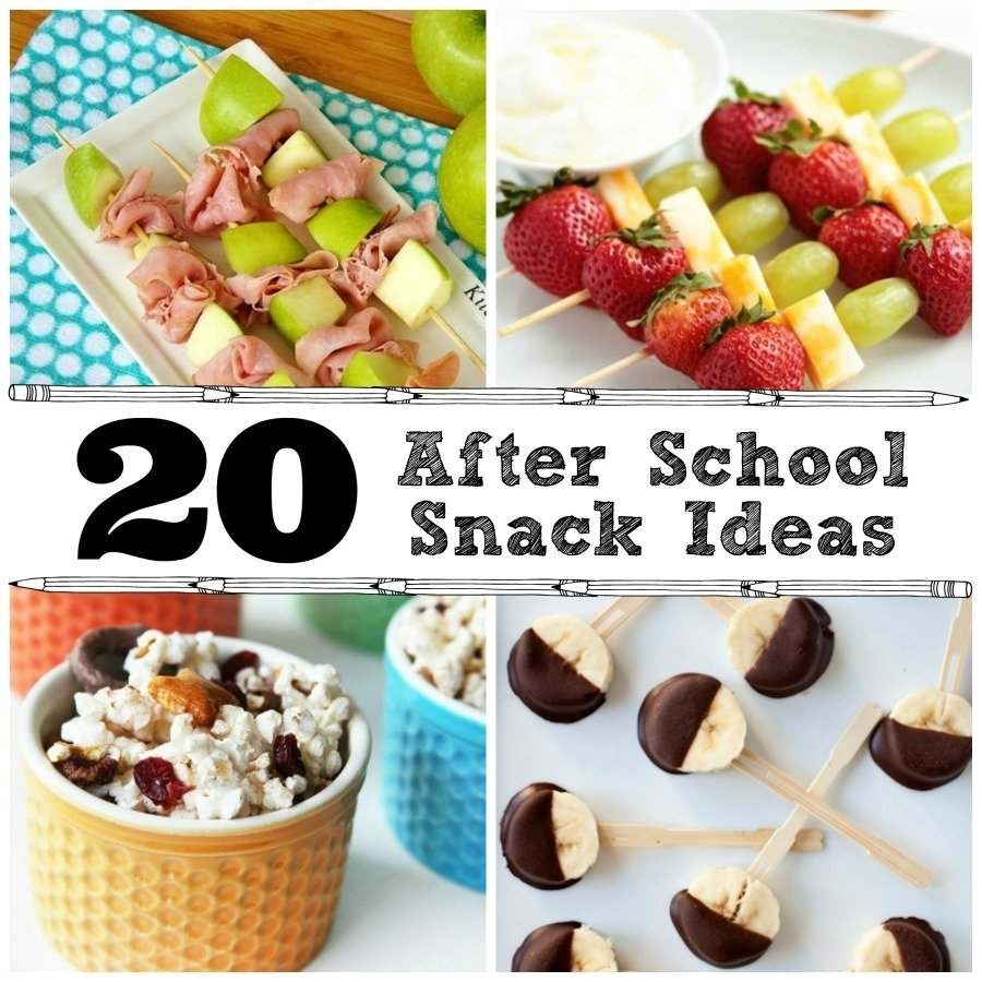10 Fabulous Healthy Snack Ideas For School 20 after school snack ideas the crafted sparrow 1 2021