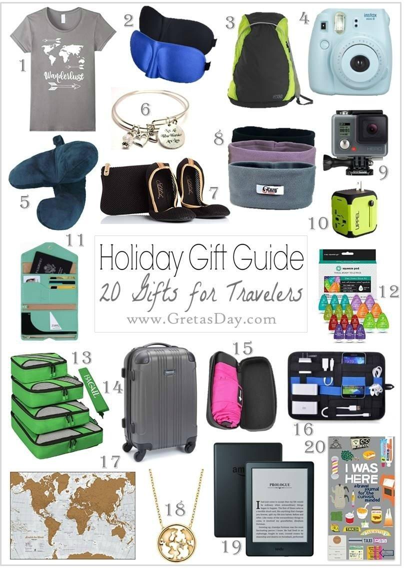 10 Lovely Gift Ideas For The Traveler 20 amazing gift ideas for the travel buff from amazon 1 2020