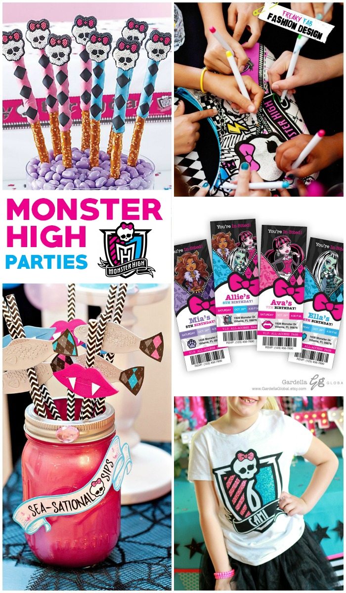 10 Fabulous Monster High Ideas For Birthday Party 20 awesome monster high party ideas love and marriage 2020