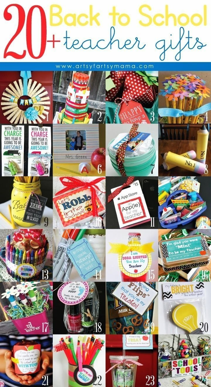 10 Beautiful Back To School Teacher Ideas 20 back to school teacher gift ideas 2020