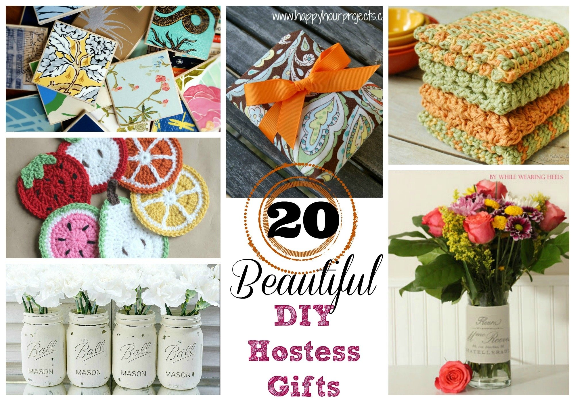 10 Pretty Hostess Gift Ideas For Bridal Shower 20 beautiful diy hostess gifts suburble 2020