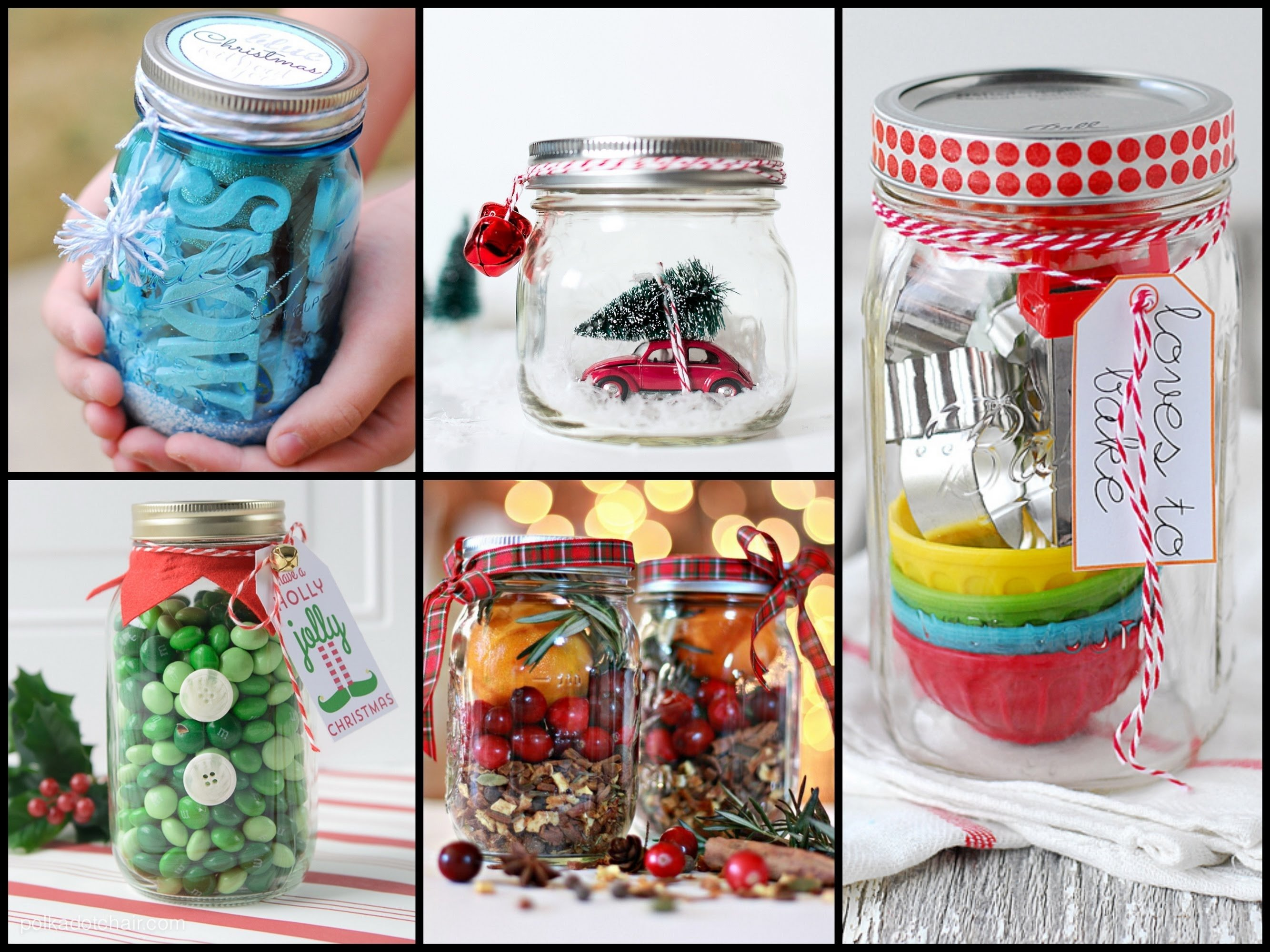 20 best christmas gift in a jar ideas - last minute christmas gift