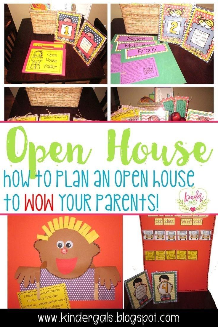 10 Fantastic Open House Ideas For Preschool 20 best prek orientation images on pinterest preschool school and