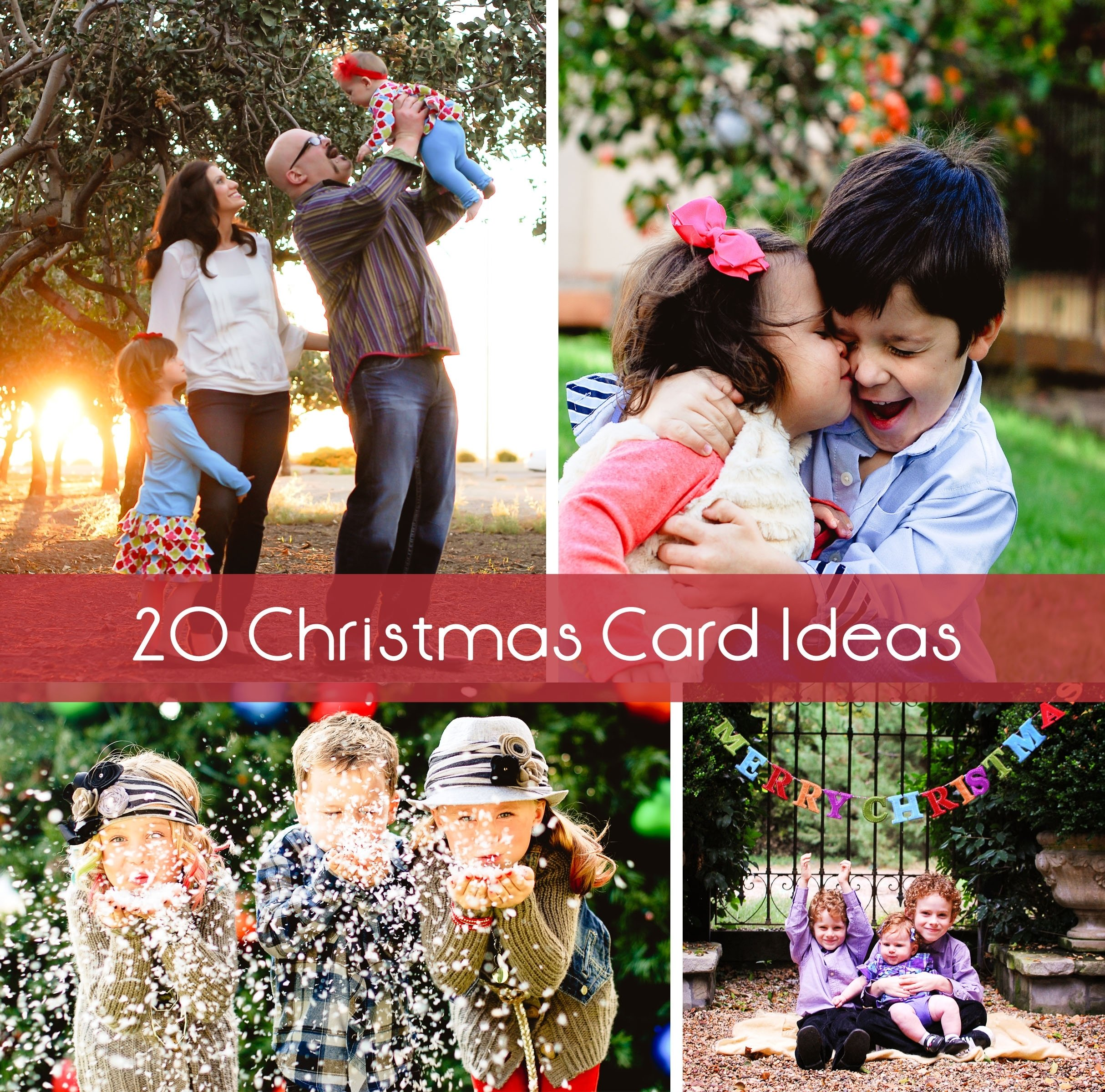 10 Cute Christmas Card Photo Ideas For Kids 20 christmas card ideas 4 2020