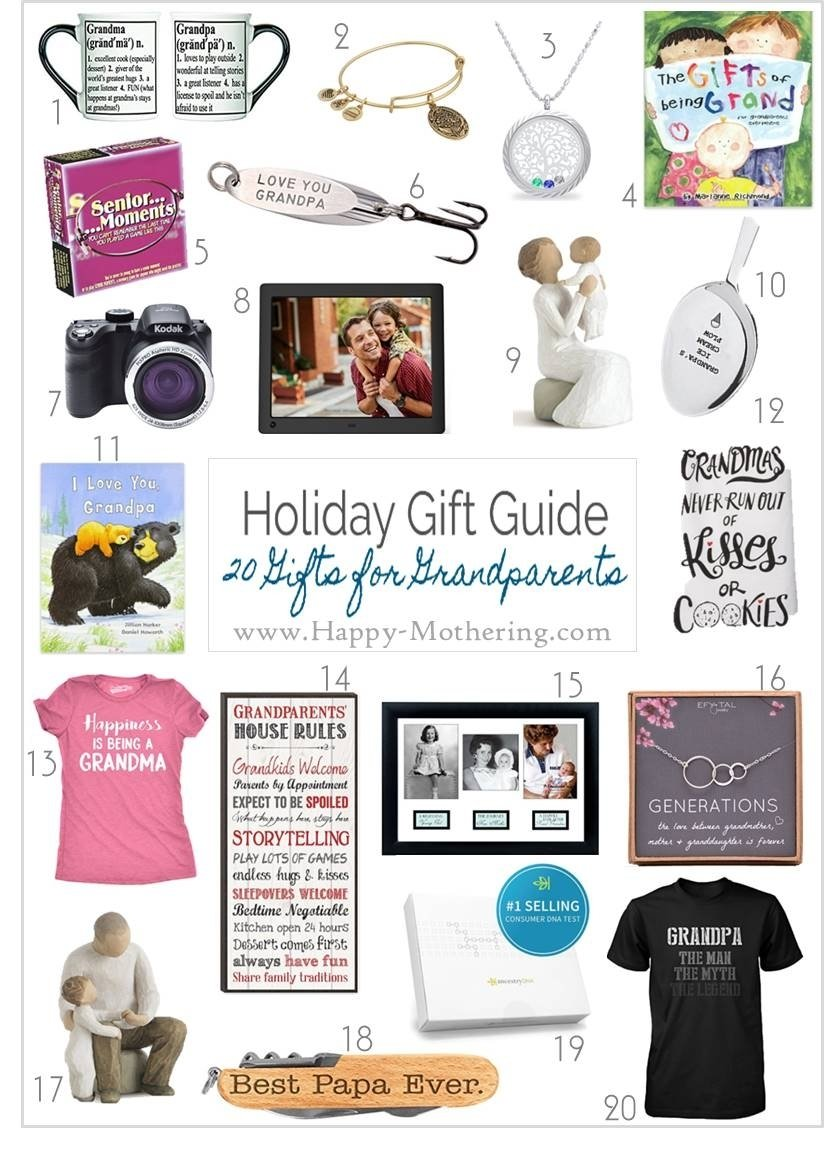 10 Most Recommended Holiday Gift Ideas For Grandparents 20 christmas gift ideas for grandparents happy mothering 1 2021