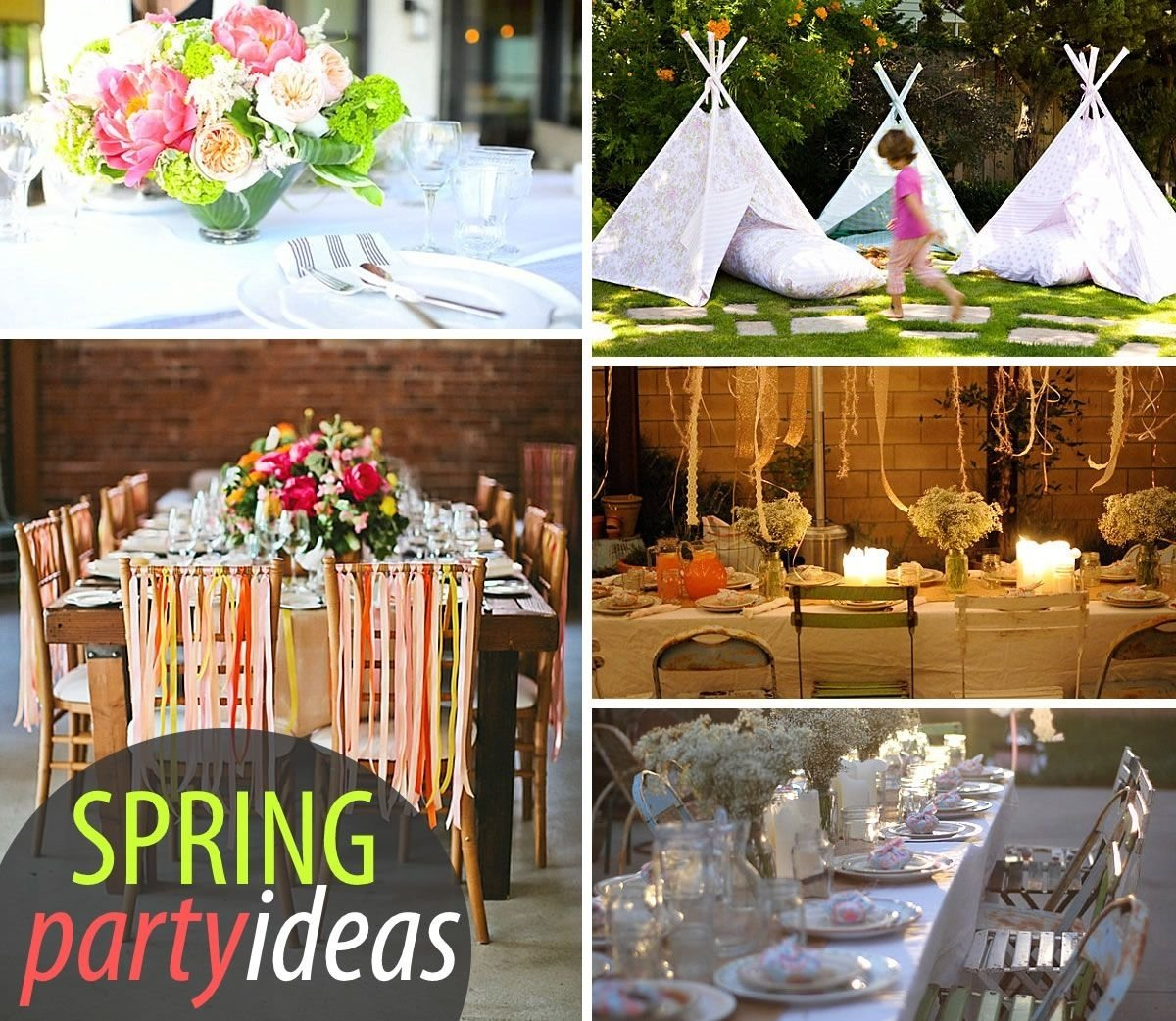 20 colorful spring party ideas | bday party ideas, party planning