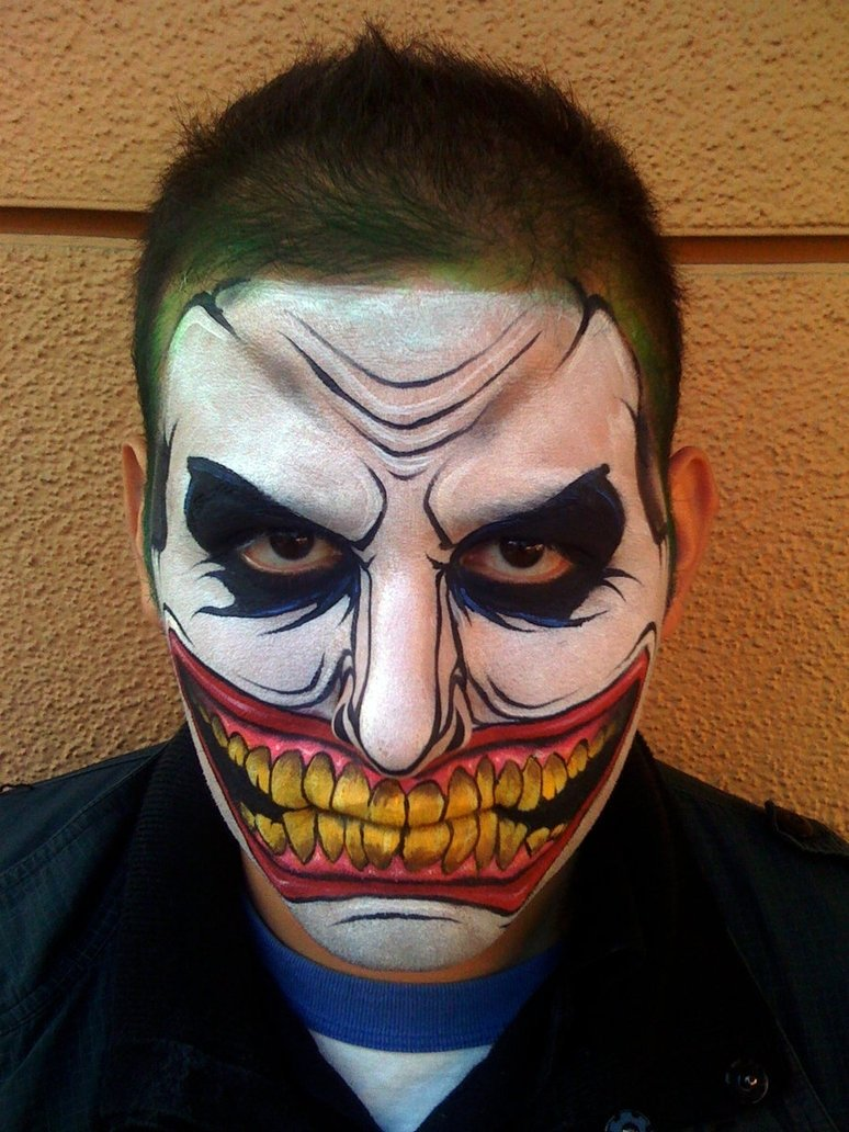20+ cool and scary halloween face painting ideas | halloween face
