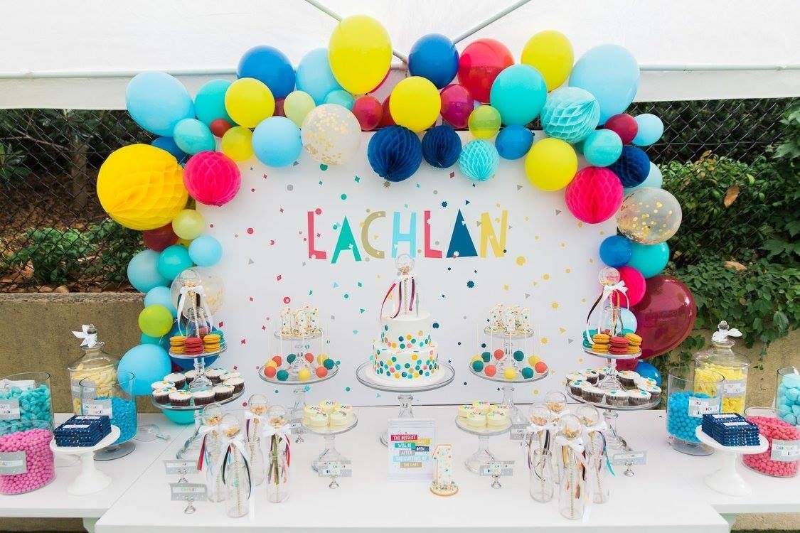 10 Stylish 1St Birthday Party Decoration Ideas 20 creative first birthday party themes at home with natalie