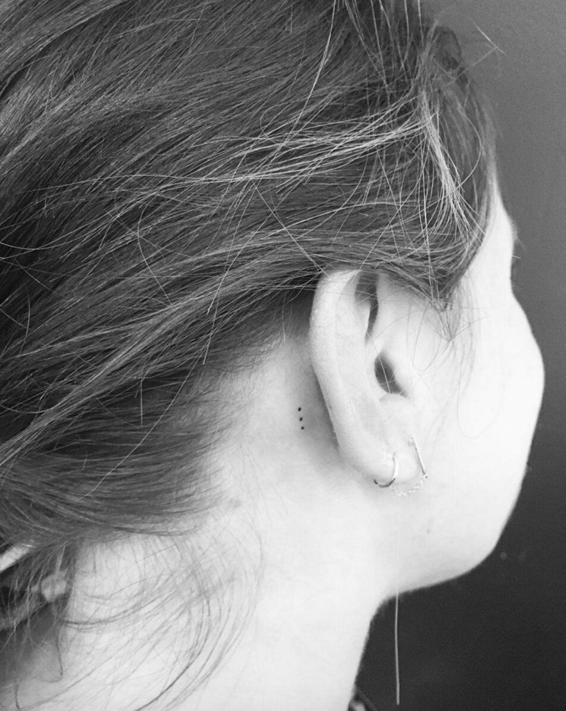 10 Perfect Behind The Ear Tattoo Ideas 20 cute small tattoos and design ideasbang bang celebrity tattoo 2020