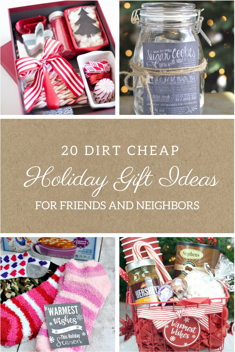 10 Gorgeous Cheap Gift Ideas For Friends 20 dirt cheap gifts for friends and neighbors moody mooch