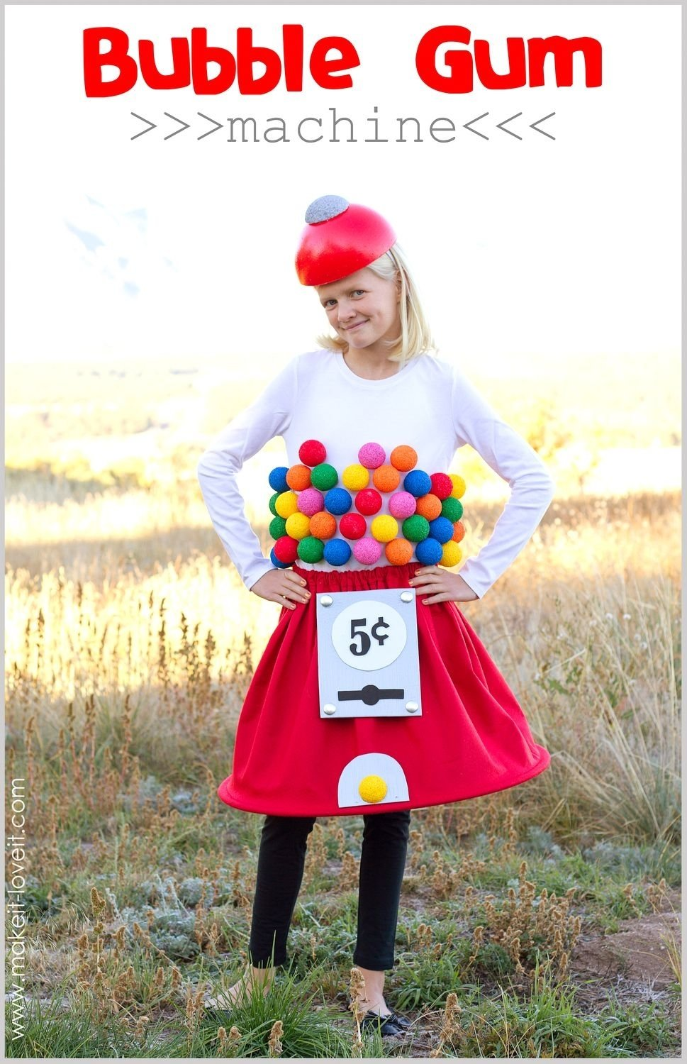 10 Fashionable Cheap Halloween Costume Ideas For Kids 20 diy halloween costumes gumball machine costume gumball 2020