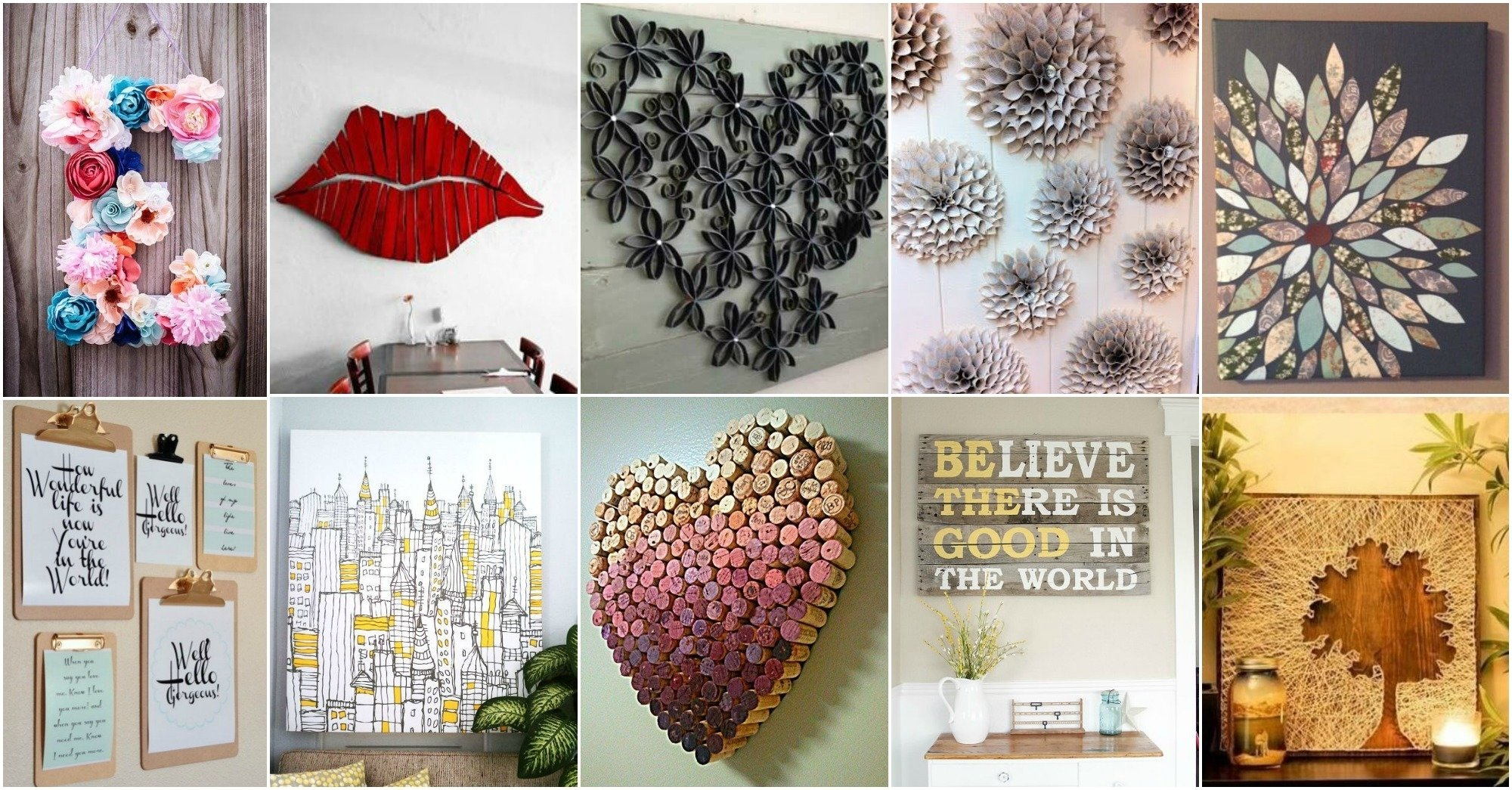 10 Cute Do It Yourself Decorating Ideas 20 diy innovative wall art decor ideas that will leave you speechless 2020