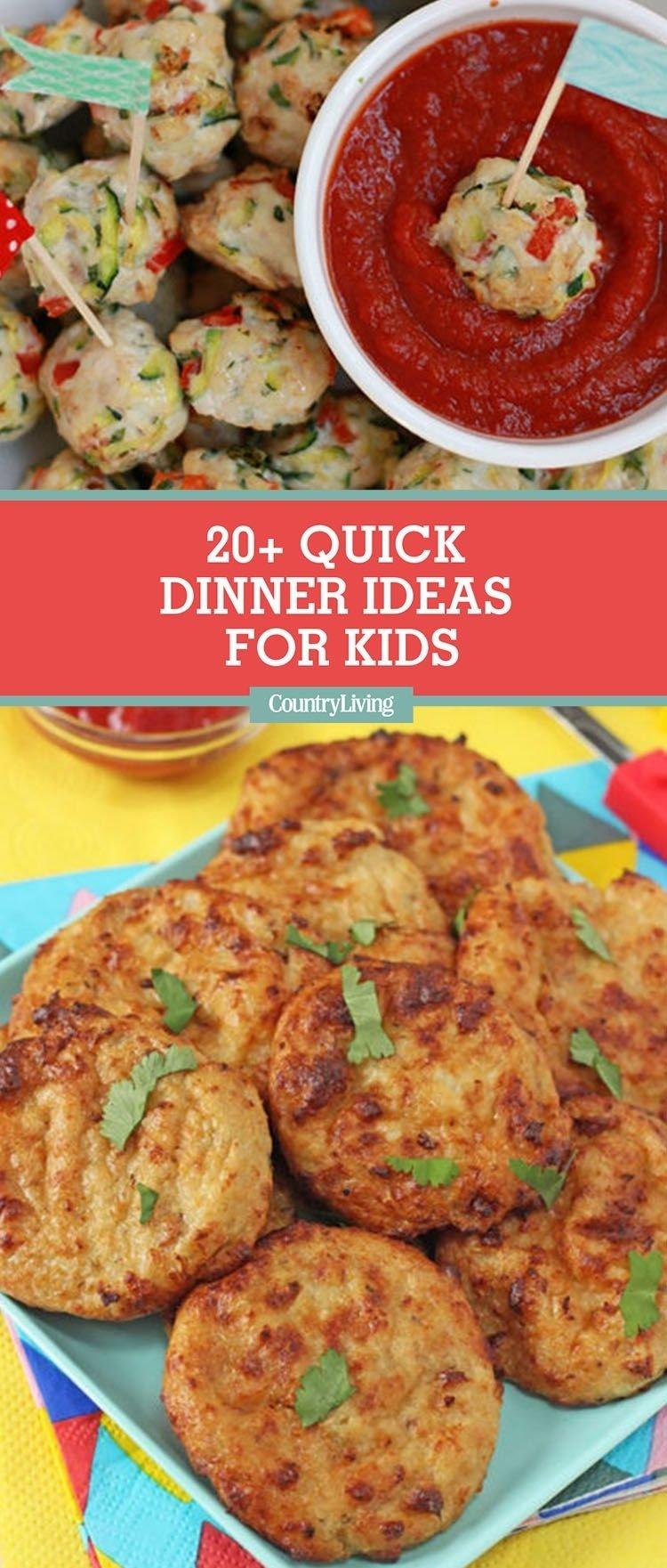 10 Stylish Good Dinner Ideas For Kids 20 easy dinner ideas for kids quick kid friendly dinner recipes 3 2020