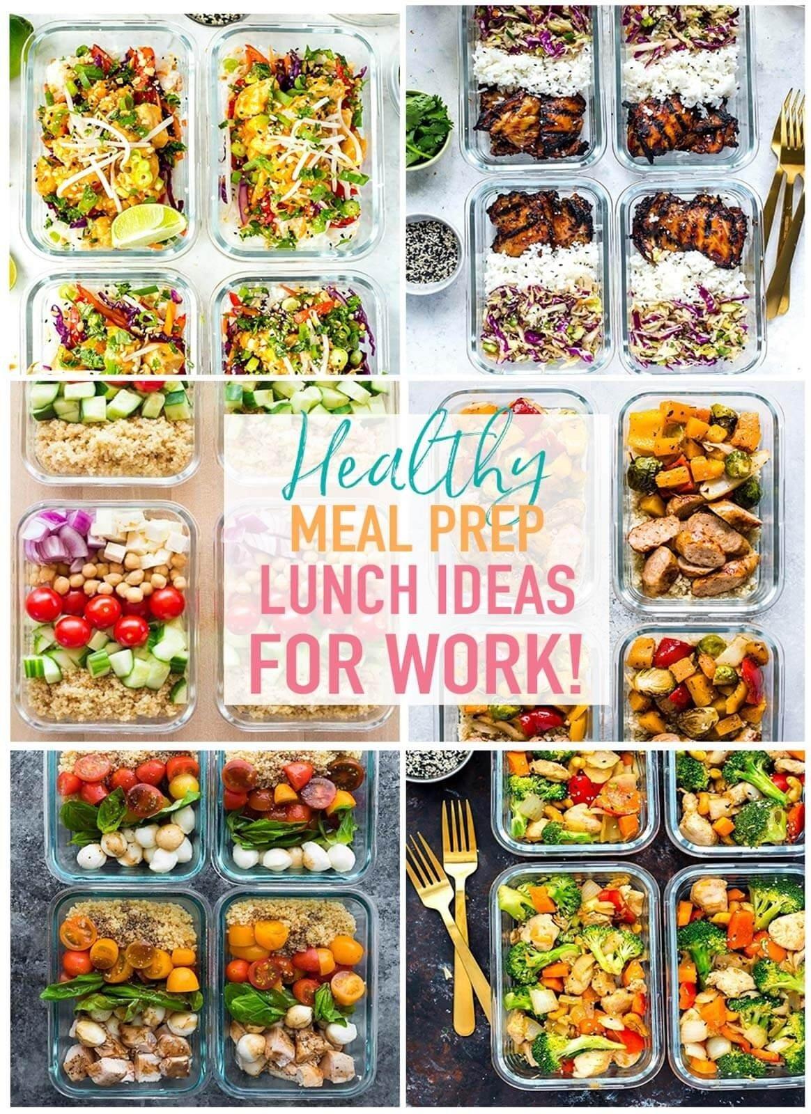 10 Elegant Easy Healthy Lunch Ideas For Work 20 easy healthy meal prep lunch ideas for work the girl on bloor 2 2020